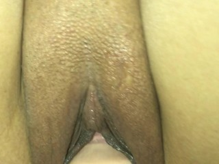 Asian fucking her toy