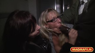 Public Interracial Milf sex hardcore german homemade mature amateur blonde public-nudity big-cock public-sex group-sex big-tits huge-tits magmafilm flashing outside brunette