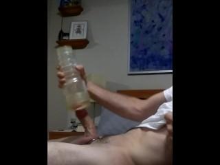 Fleshlight huge dick cumshot