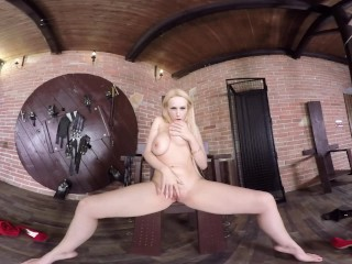 Virtual Reality porn with Angel Wicky