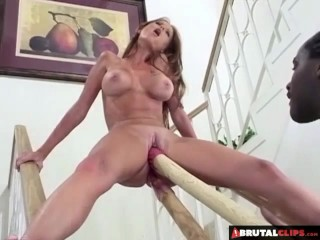 BrutalClips - Stretching her pussy to it's absolute limit