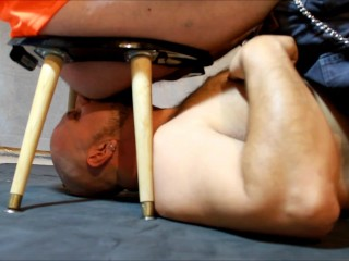 DavieBear - Rimming a straight construction worker