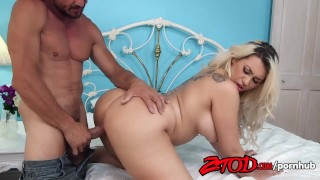 Busty Blonde Latina Assh Lee Getting Hammered  doggy style big ass big cock riding reverse cowgirl blonde blowjob tattoo hardcore cowgirl spanish latina latin curvy babe pussy eating natural tits ass licking ztod