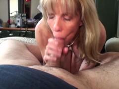 Very Petite Mature Blonde Has Crushing Hard Sex With A BHM Pornhub Fan