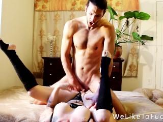 Sex Machine Fucks you Hard Her POV