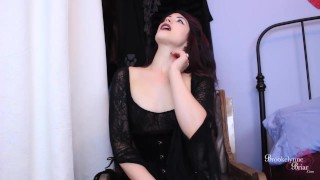 Bitchy Goth FemDom Makes You Suck Her Cock While You Stroke Your Dick  goth girls edging instruction bi humiliation cum encouragement femdom strapon strapon femdom bi training domination joi encouragement young kink joi brookelynnebriar jerk off instruction brookelynne briar