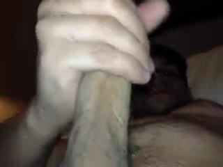 jerking off my hard cock