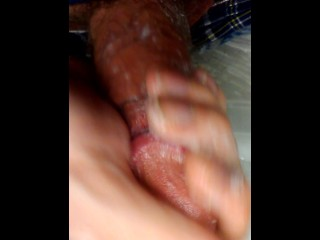 Stroking My Big Long Shaft
