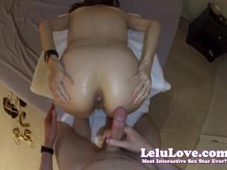 Lelu Love-Spanking Assjob Cum On Asshole