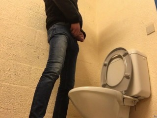 to bad there was no urinal