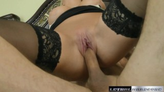 British MILF Katy fucks her way to a carloan