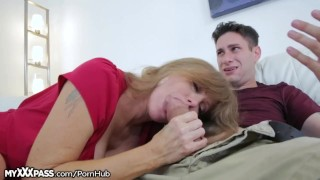 Horny Mom Gives Son-in-Law a Lesson mature milf masturbation masturbate mom blowjob cougar myxxxpass cumshot mother mother-in-law older-younger open mouth cumshot big-boobs big-tits granny