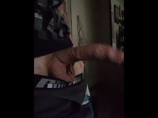 cock reveal and tease #3