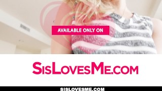 SisLovesMe- Clumsy Sis Fucks Her Way Out Of Trouble  teasing big-cock step-brother cock-sucking oral pov young hardcore natural-tits brunette petite step-sister shaved sislovesme small-tits is