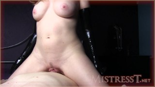 Mistress T bottss latex mother old kink mom