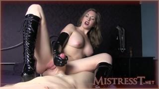 Mistress T bottss latex  kink mother old mom