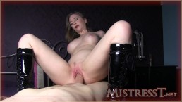 Mistress T bottss latex