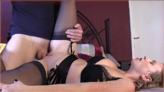 mistress t cleaning_cuckold_hubby  mistress-t heels stockings talk