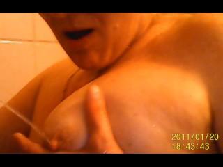 piss on tits