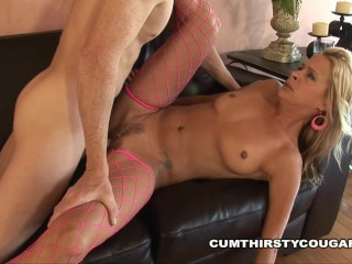 Payton Leigh gets Pool Boy Cock in her Milf Cunt