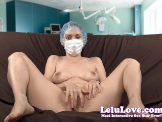 Lelu Love-Medical Mask And Cap Masturbation