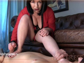 Mistress T - Foot Worship Sensuality