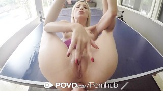 POVD Tiny Piper Perri gets her wet pussy destroyed by big dick