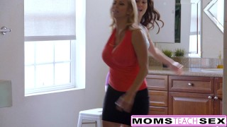 MILF Alexis Fawn Squirts Hard For Step-Son & GF step-son babes threeway riding blonde big ass momsteachsex deepthroat threesome big-tits creampie fake-tits reverse-cowgirl brunette step-mom bigcock doggystyle