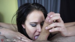 Linsey Lust POV Sloppy Blowjob - LJFOREPLAY