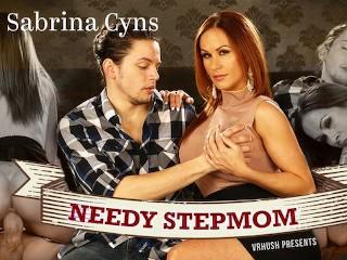 VRHush - Sabrina Cyns is the needy step mom