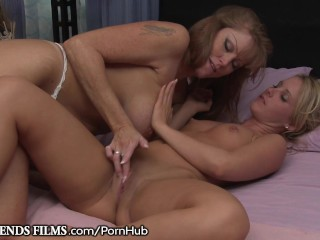 GirlfriendsFilms Cougar Darla Crane Seduces Curious Teen!