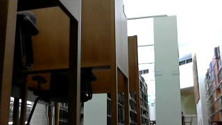 Ginger Banks full naked with dildo in public library