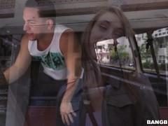 Kirsten Lee Goes Wild on a Spring Break Bang Bus Ride (bb15031)