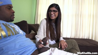 Mia Khalifa Tries A Big Black Dick (mk13775)  interracial butt arab big ass miakhalifa monstersofcock bangbros lebanese pornstar