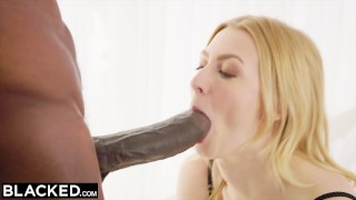 BLACKED Alexa Grace fucks BIGGEST BBC IN THE WORLD!  bbc lingerie riding booty blonde blowjob huge-cock cowgirl petite blacked small-tits doggystyle facial