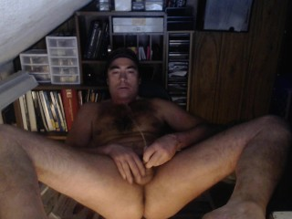 Pissing all over my Naked Body