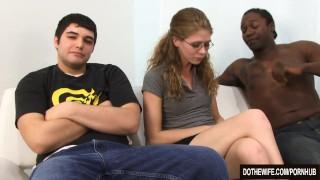 White couple interracial sex  milf hardcore interracial housewife facial jenny leigh cuckold couple wife dothewife