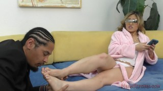 Nyomi Star Asian Foot Worship - Femdom videos foot-fetish feet kiss-her-feet meanbitches nyomi-star mistress asian kink foot-worship lick-her-feet domme smell-her-feet