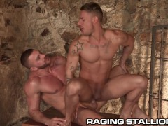 RagingStallion Exotic Hunks Moan for Each Other