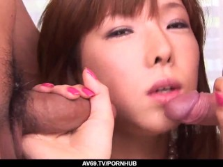 Serina Hayakawa wants proper inches and loads for her cunt