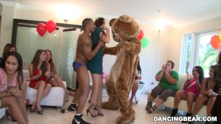 Wild Sluts Pin the Junk on the Hunk on DancingBear.com! (db9114)