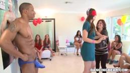 Wild Sluts Pin the Junk on the Hunk on DancingBear.com! (db9114)