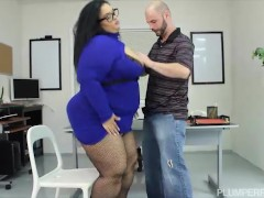 Sexy Big Booty Office Babe Nirvana Lust