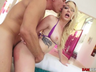 Mick Gives Iris Rose a Very hard anal fucking