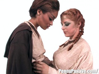 Hottest Lesbian Cosplay With Penny Pax & Skin Diamond!