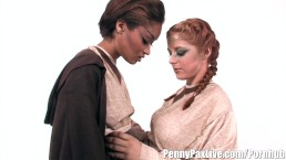 Hottest Lesbian Cosplay With P