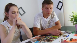 18videoz - She wants more cash and sex  close up riding tattoo cunnilingus young cumshots pussy brunette european shaved teenager doggystyle big boobs natural tits 18videoz brunet