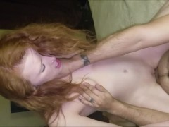 Slut Wife Aleigha James Fucks 2 Fans at Once