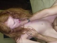 Slut Wife Aleigha James Fucks 2 Fans at Once