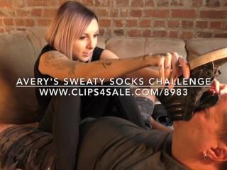 Avery's Sweaty Socks Challenge - www.c4s.com/8983/17128220